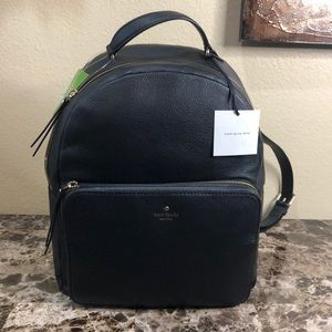 Kate Spade Nicole Laptop Leather Backpack